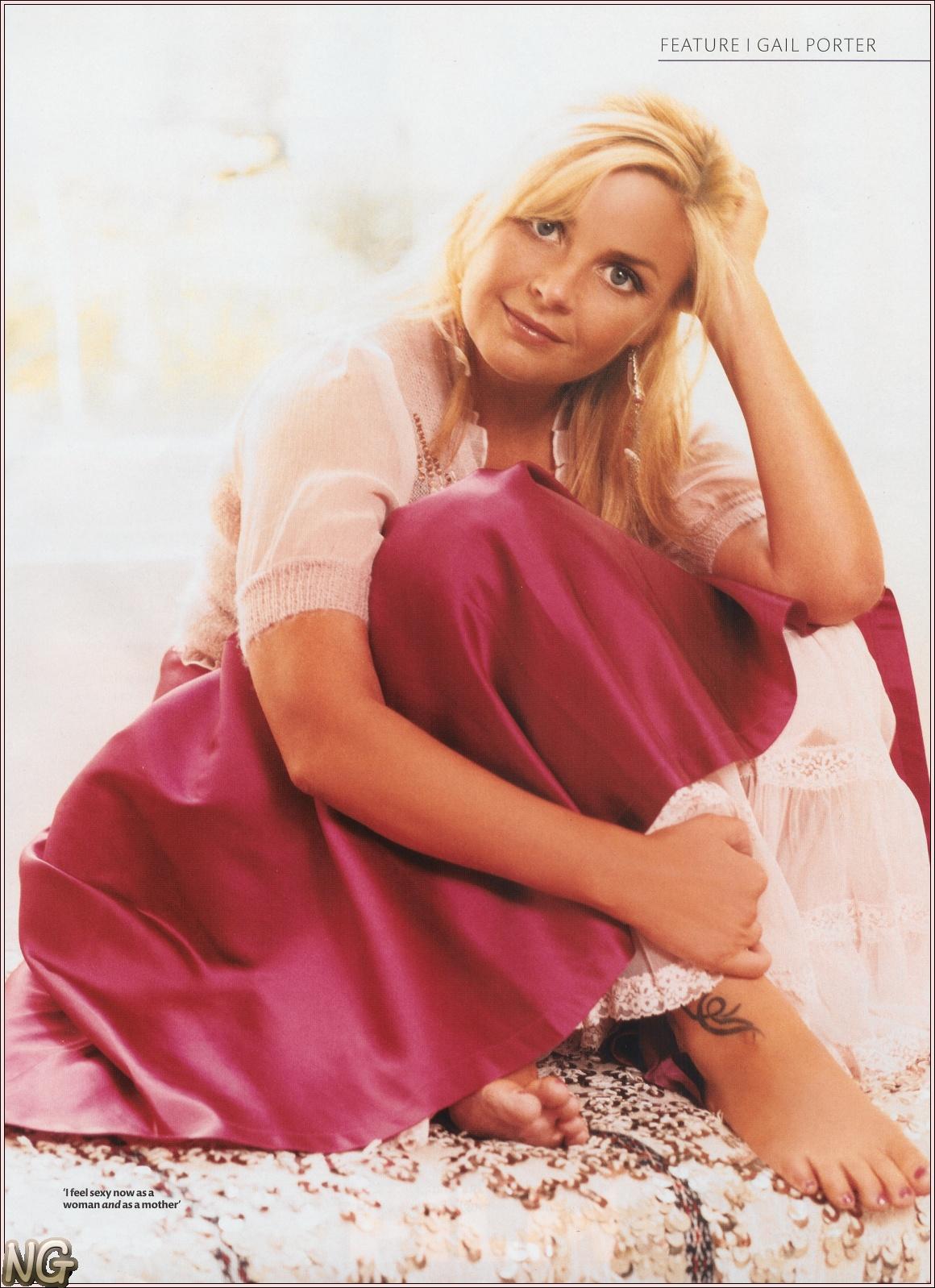 New Celebrity Buzz: Gail Porter Feet