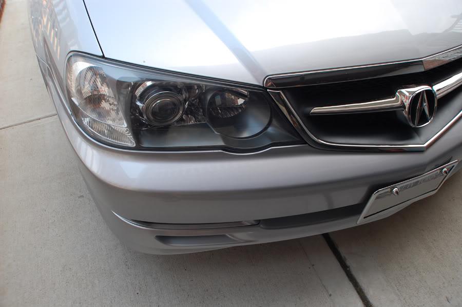 HID ILLUSIONZ Acura TL SC Cayenne Projector HID Retrofit Headlights - 2003 acura tl headlight