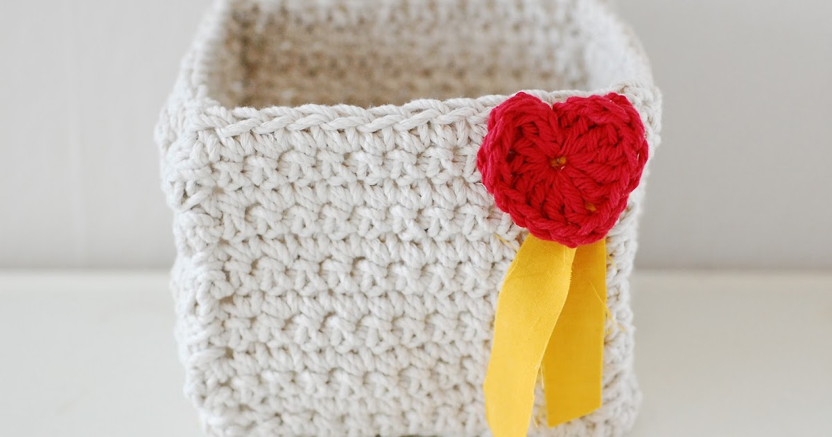 Maize Hutton: Make a Crocheted Valentine Box