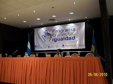 Colegio Manuel Alvar López en Conectar Igualdad.  Encuentro en Mar del Plata