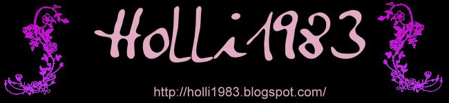 holli1983 Blog