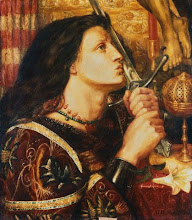 Jean D'Arc by Dante Gabrielle Rossetti (late 19th C.)