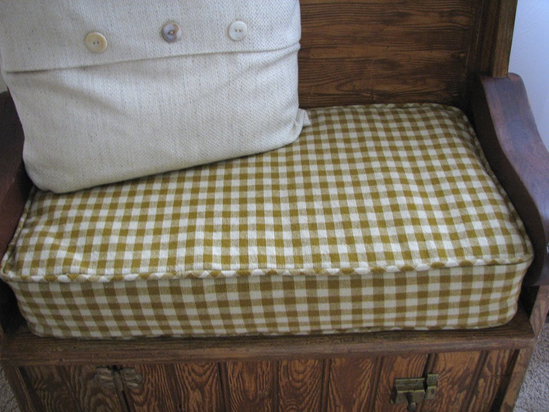 All About It Custom Made Bench Seat Cushion