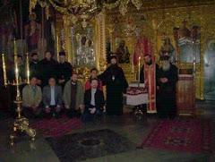 Athos - Schit Prodromu biserica noua interior