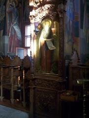 Athos - Schit Prodromu ...Strana bisericii