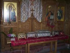 Sfintele moaste Athos Schitul Lacu - Sf Dimitrie