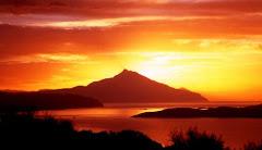 Rasarit de soare Muntele ATHOS