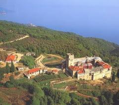 Manastirea CARACALU - Athos