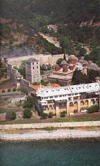 Manastirea XENOFONT  -  Sfantul Munte ATHOS