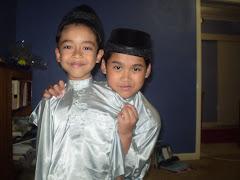 My beloved sons