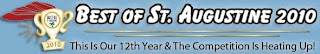 Voting for Us? Our Category: Professional Services 1 best of 2010 header3 St. Francis Inn St. Augustine Bed and Breakfast