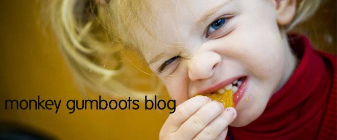 Monkey Gumboots Blog