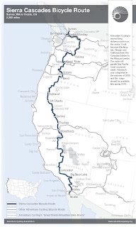 Celebrate New Sierra Cascades Route
