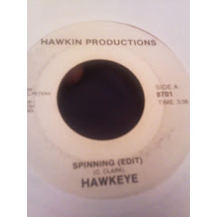 HAWKEYE - spinning 198x TUERIE TRES RARE