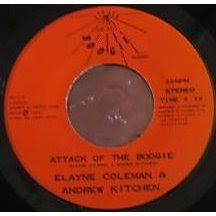 ELAYNE COLEMAN - attack of the boogie 198's