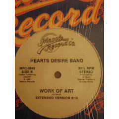 HEARTS DESIRE BAND - work of art 1986