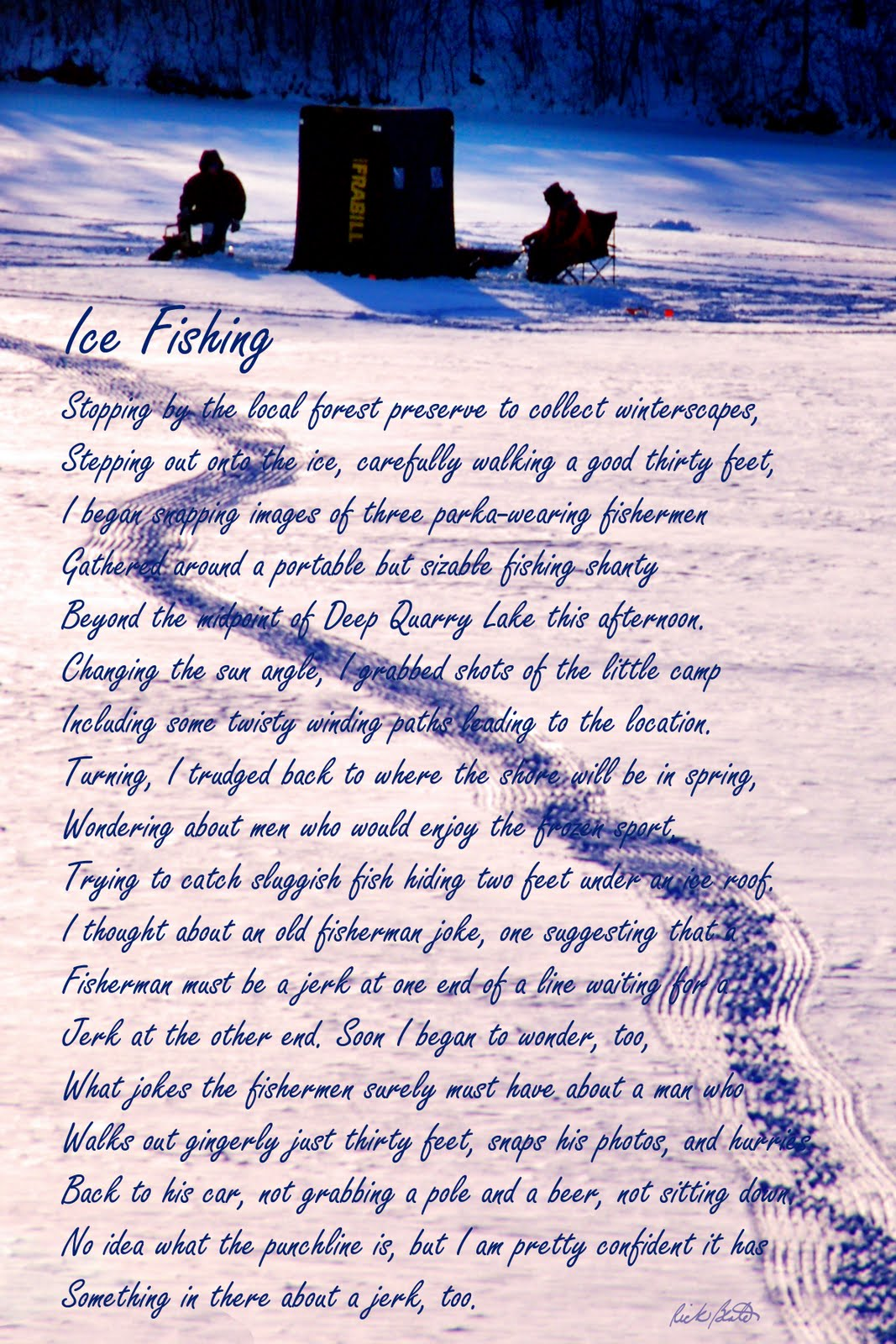 Gone fishing poem pictures to pin on pinterest thepinsta for Poems about fishing in heaven