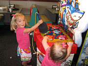 I think I had avoided the idea of taking the girls to Chuck E. Cheese .