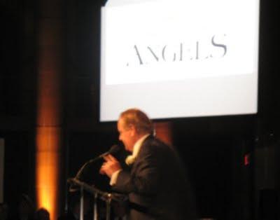 Rod Gilbert Addresses The Crowd