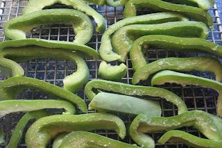 frozen bell pepper strips