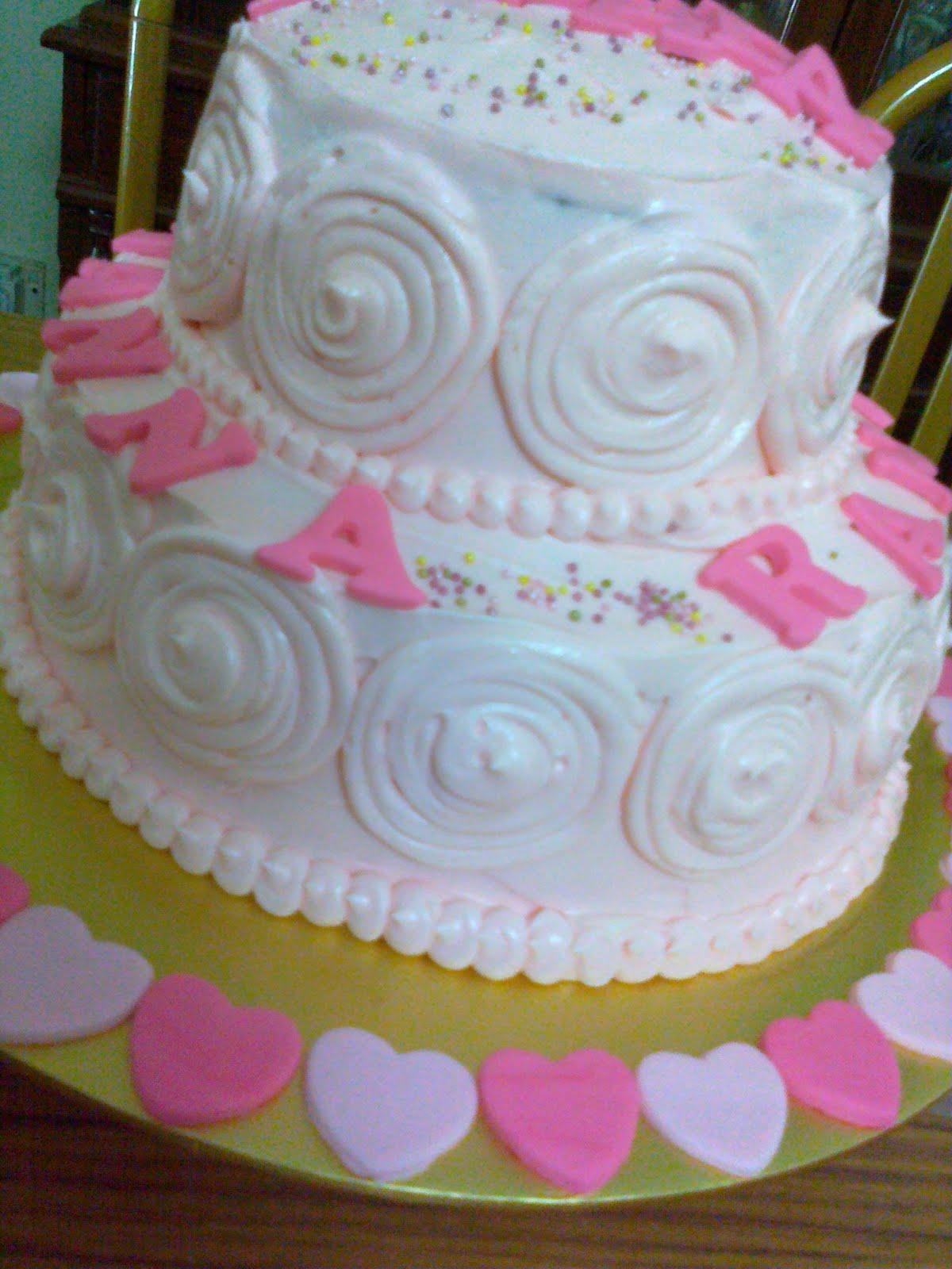 Nans 1st Birthday Cake