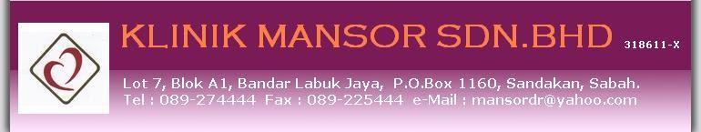 Klinik Mansor Sdn. Bhd.
