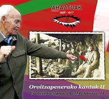 Ahaztuak CD II (15 euro)
