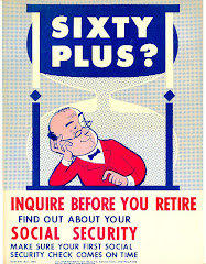 1959 Social Security Poster: Inquire before you retire!