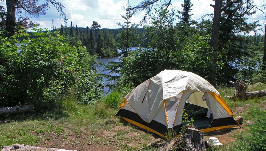 essay on camping experience