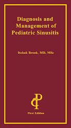 "Order Dr. Brook's book:""Diagnosis and management of pediatric sinusitis"""
