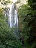 Seine Majestät, der Wasserfall