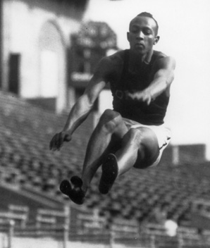 Jesse Owens broke down
