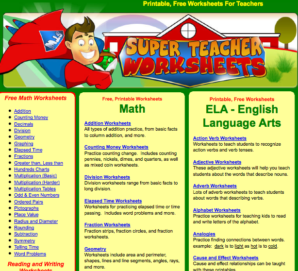 Worksheets For Teachers Teacher Worksheets Review