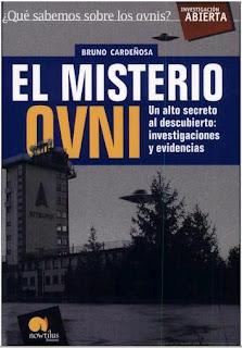 Portada del libro de Bruno Cardeñosa ' El misterio OVNI'