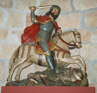 Imagen de Santiago Matamoros en Carrión de los Condes (Palencia)