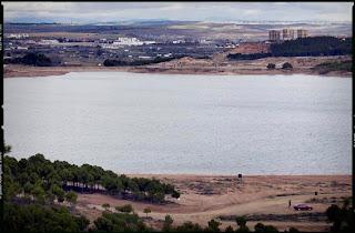 Lago de la Estanca (muy cercano a Calahorra), donde sucedió un hecho inexplicado