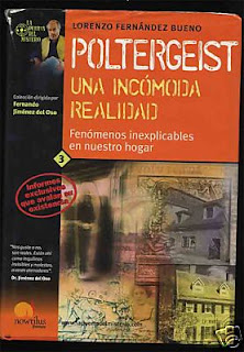 Portada del libro sobre casos poltergeist escrito por Lorenzo Fernández Bueno