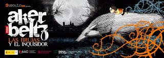 Cartel del corto sobre las brujas de Zugarramurdi