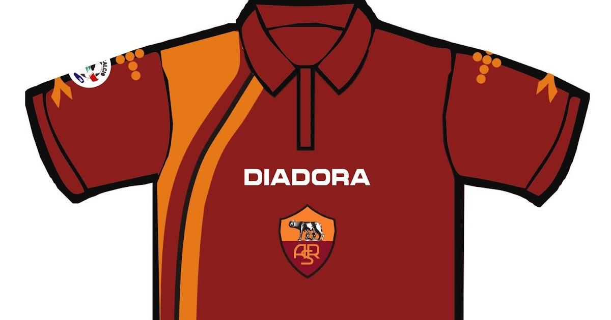 artepreneur: as roma fc polo shirt