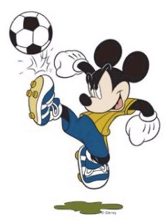 Mickey Mouse Penaltı Oyunu