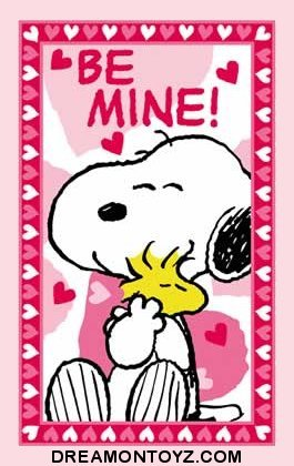 Pics gifs photographs snoopy and woodstock valentine greetings