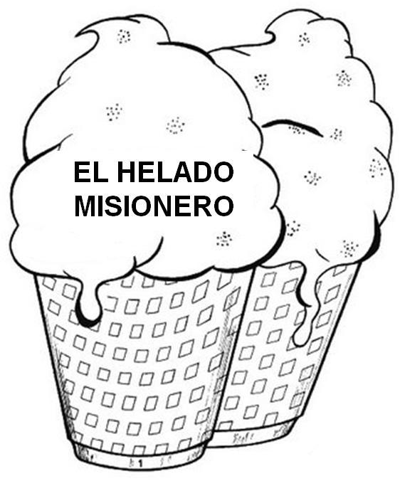 AMIGOS DE JESÚS: MISIONES. EL HELADO MISIONERO