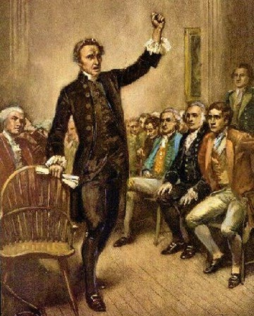 patrick henry speech Speeches patrick henry's resolutions against the stamp act parsons' cause  speech give me liberty or give me death virginia declaration of rights.