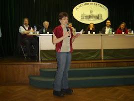 Leitura do livro poema Ressurgimento - Prêmio Açorianos 2006
