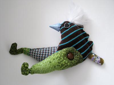 Maruja, y el taller de muñecos