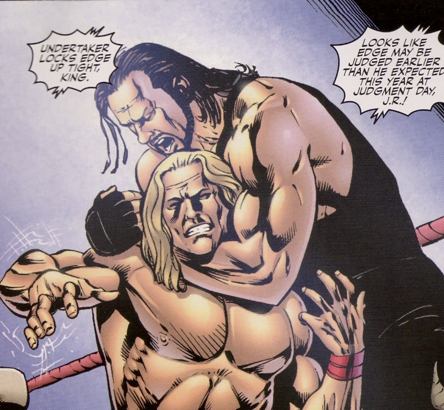 As a matter of fact, there is not a tattoo to be seen in all of WWE Heroes,