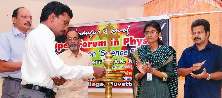 Inauguration of open forum in Physics