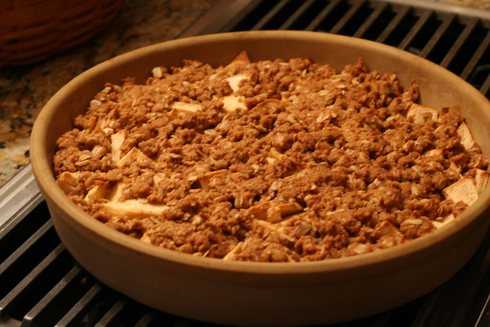 our life in a click: {Recipe}Easy Apple Crisp