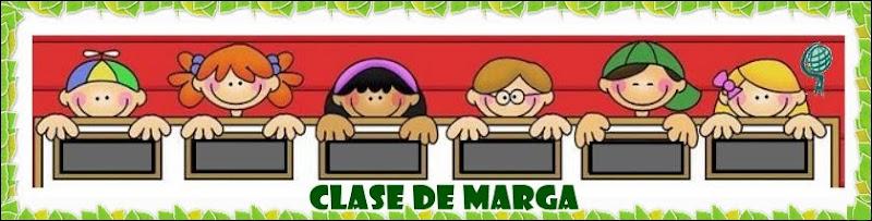 CLASE  MARGA    4 AÑOS