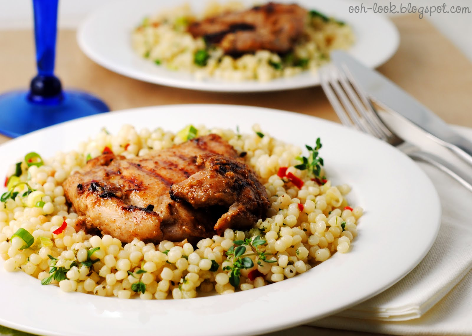 Ooh Look Ottolenghi S Chargrilled Chicken With Mograbiah